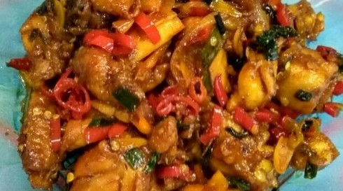 Resep Masakan Tumis Ayam Pedas Enak