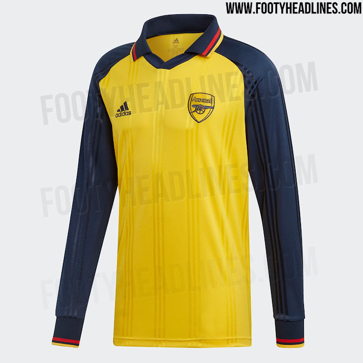 best website f4a5d 249b6 Adidas Arsenal 19-20 Icon Retro Jersey Released + Prototype ...