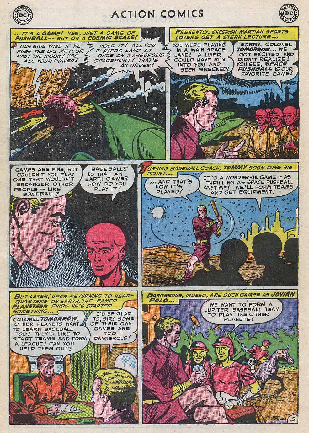 Read online Action Comics (1938) comic -  Issue #196 - 26
