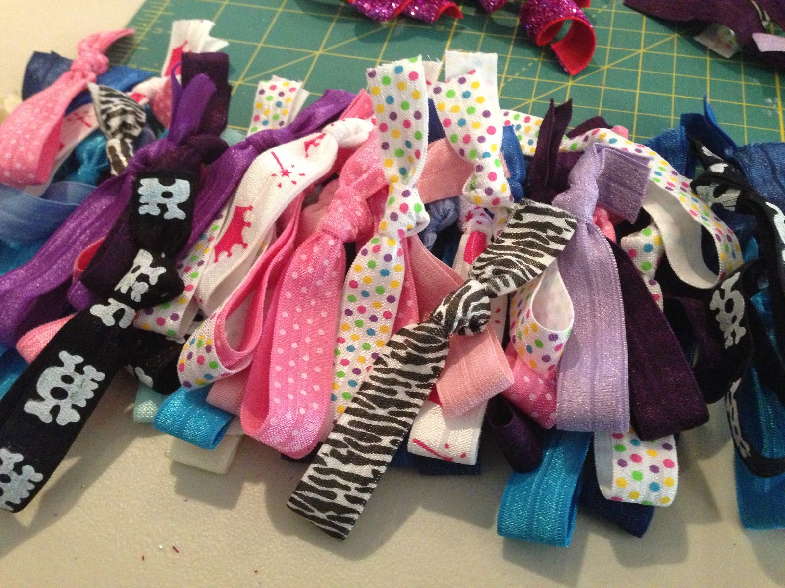 Oh That Annelie Diy Project Ribbon Hair Ties Retail