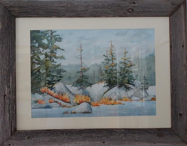 Danielle Beaulieu watercolour landscape