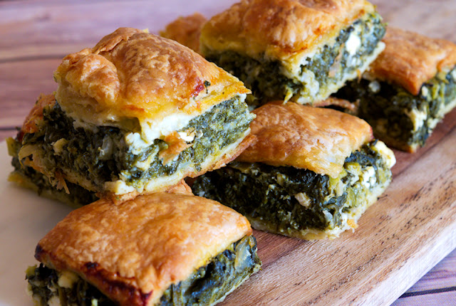 How to Make Spanakopita Pie | Greek Spinach Feta Pie