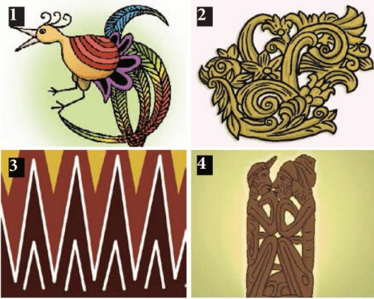 Seni Budaya : Menggambar Ragam Hias