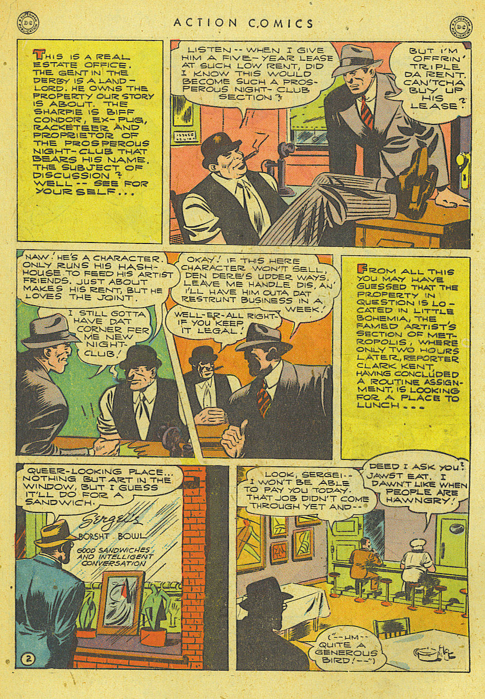 Read online Action Comics (1938) comic -  Issue #78 - 3