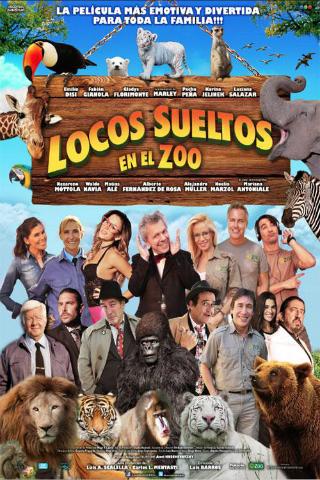 Locos sueltos en el zoo [2014] [DVDR] [NTSC] [Latino]