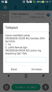 Tutorial Paket Internet 3 4G Murah, Paket Tri 4G Bulanan + Nonstop 5