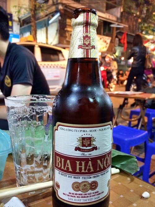 Bottle of Hanoi beer