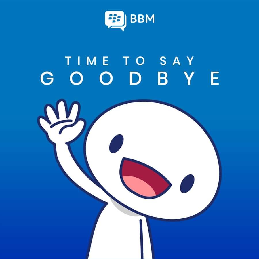 Layanan Blackberry Messenger Akan Tutup Pada 31 Mei 2019