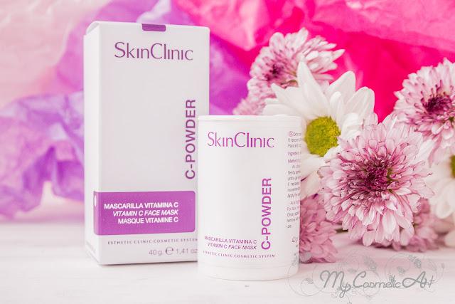 Syl 100 Sun Lux, protector solar facial de Skin Clinic. Y C-Powder, mascarilla de Vitamina C.