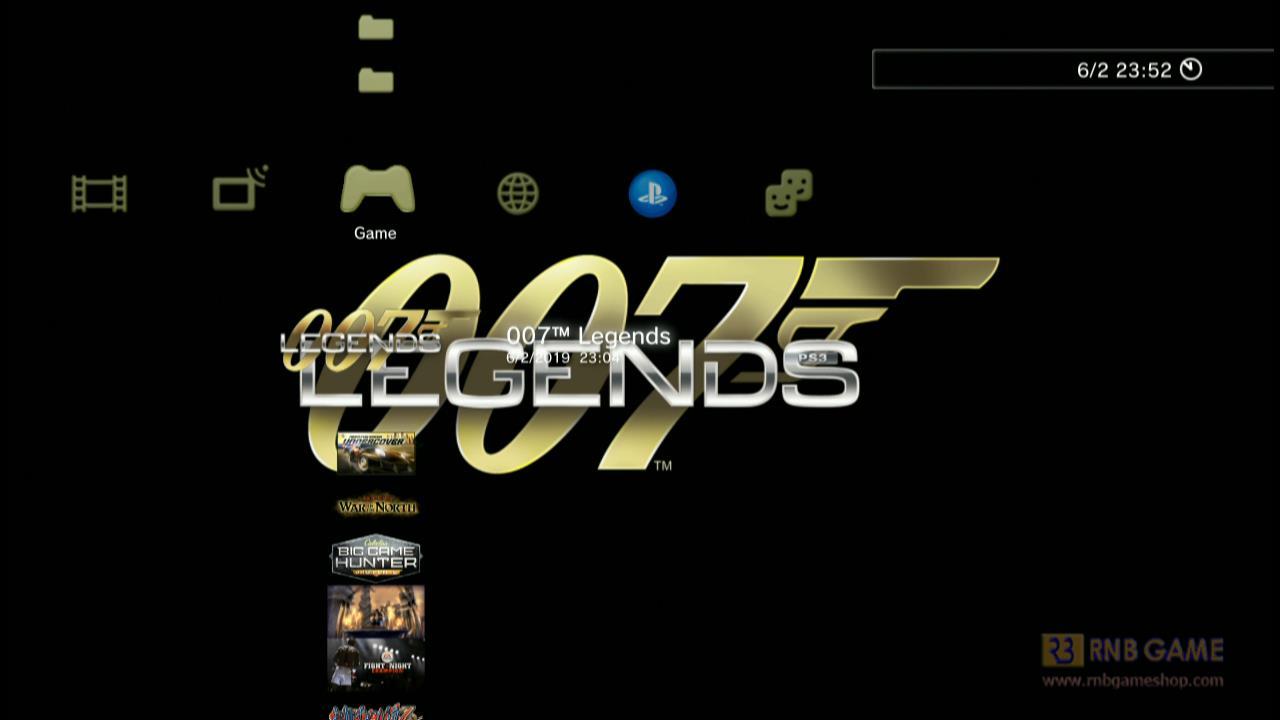 Download Game PS3 OFW Han 007 Legends – PKG Format FAT32