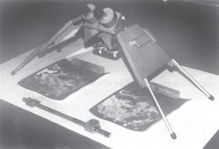 Stereoskop cermin model N-2 Zeiss dengan alat pengukur stereomikrometer