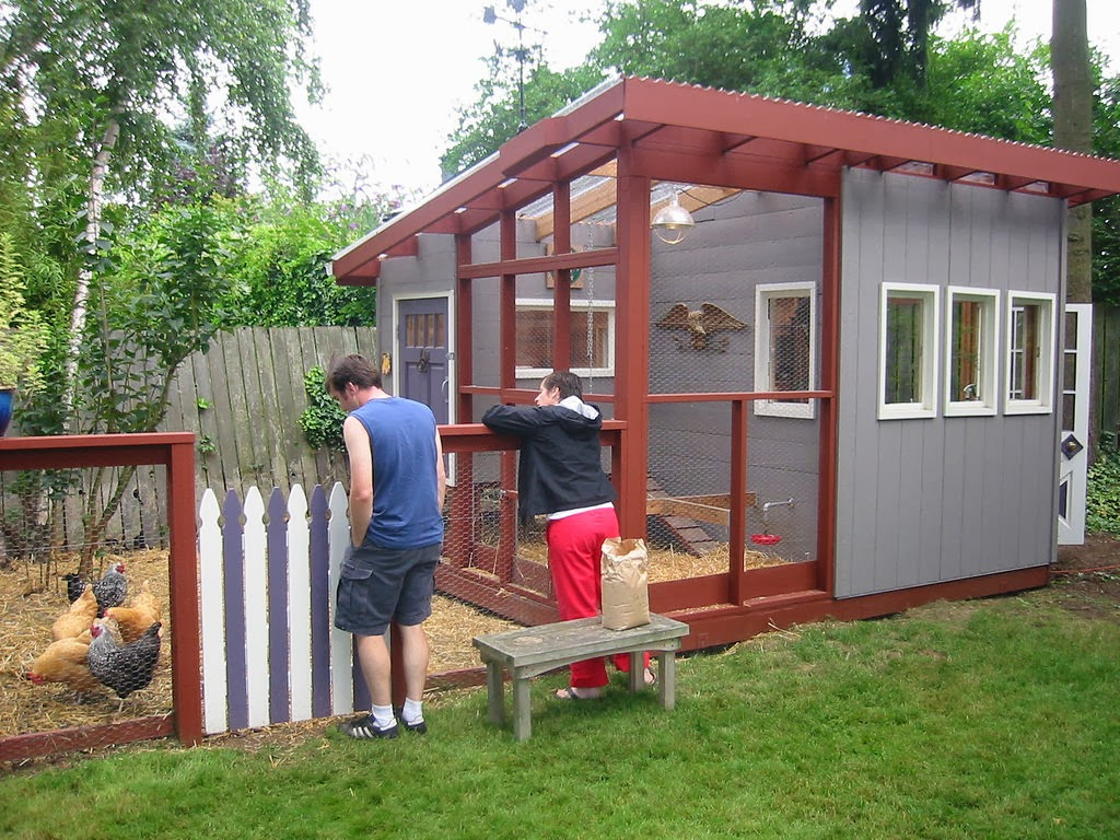 Chicken House Plans: Chicken Coop Design Plans