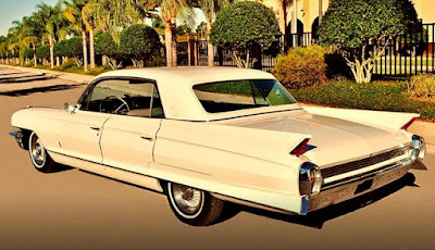 1962 Cadillac Fleetwood Sixty Rear Left