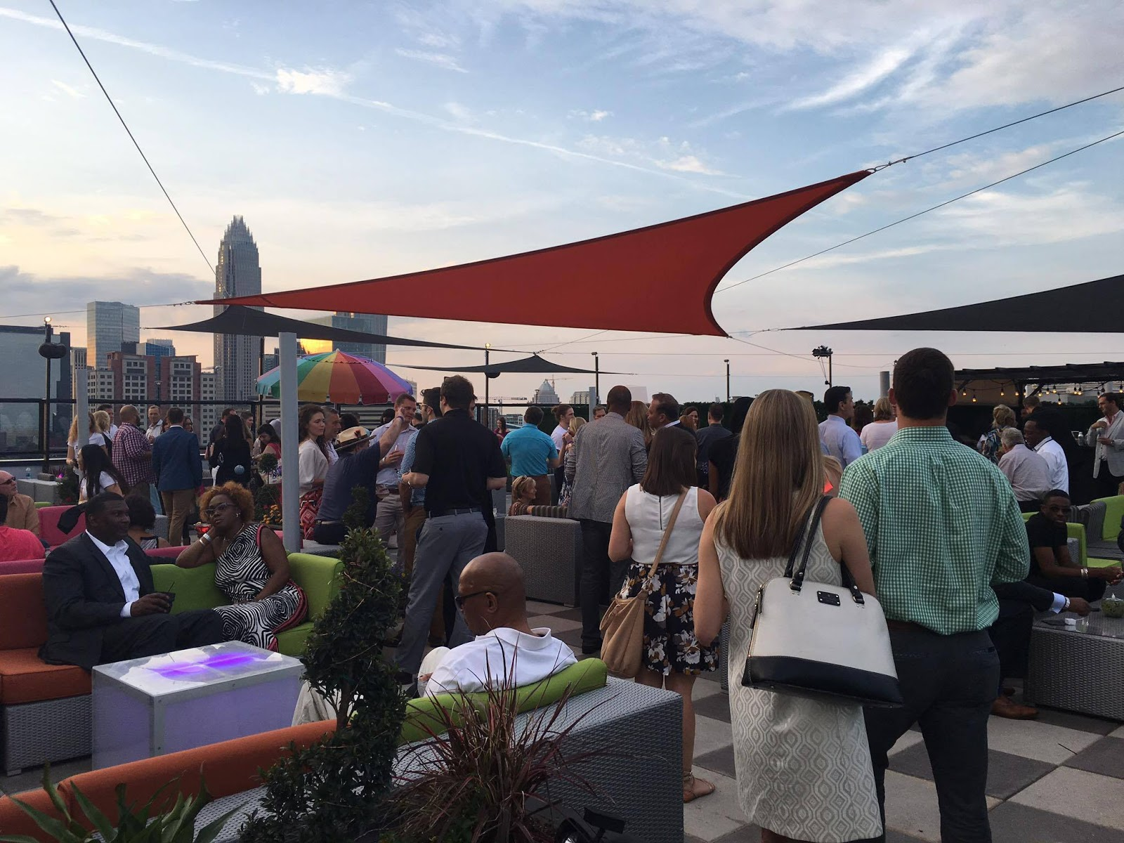 City lights and craft city social club launch party recap the second portion of the evening took place in the neighboring le meredien hotel which is home to charlottes newest rooftop bar city lights aloadofball Gallery