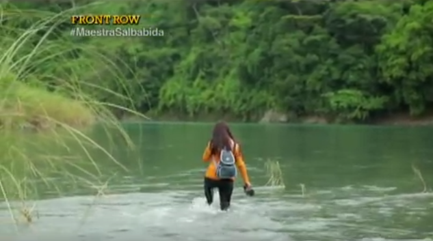 This Filipina Walks For 2 Hours And Crosses 5 Rivers, To Teach Her Students! Inspiring!