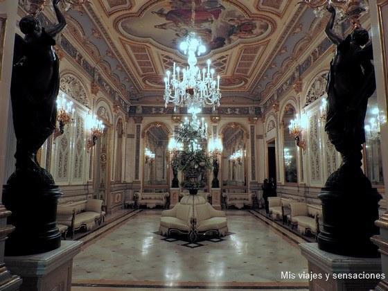 Sala de baile, Palacio del Marqués de dos Aguas, Museo Nacional de Cerámica González Martí, Valencia