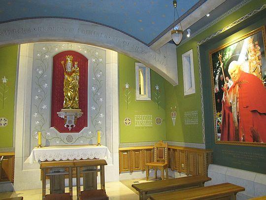 Kaplica Matki Bożej Ludźmierskiej.