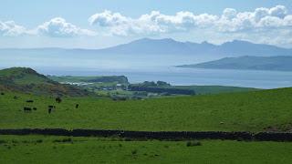 Isle of Arran a távolból