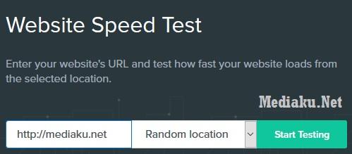 Cek Speed Blog Uptime