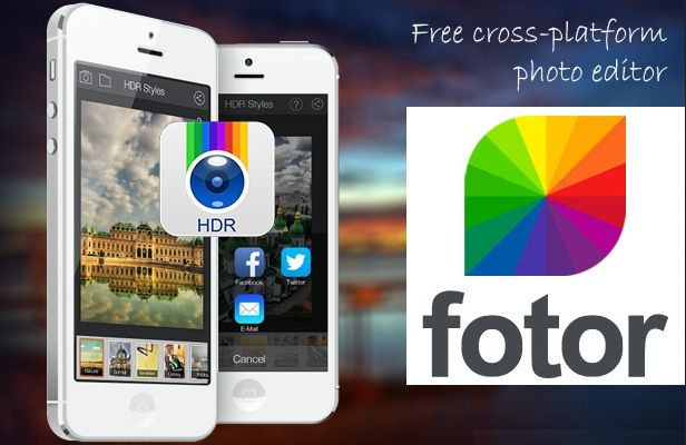 Aplikasi edit foto android terbaik - fotor photo editor