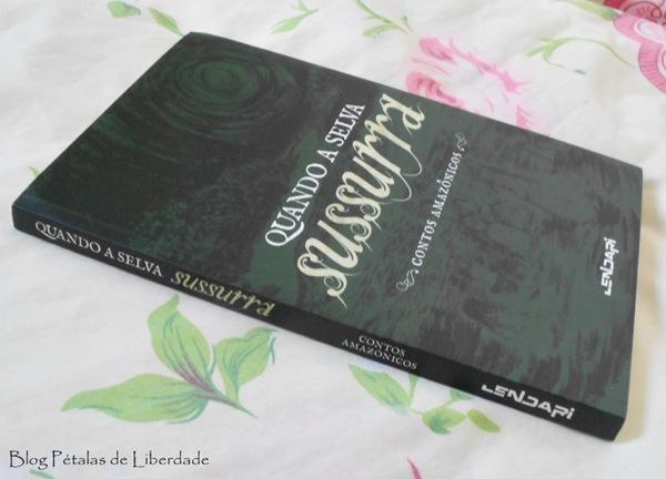 Resenha, livro, Quando a selva sussurra, contos amazônicos, editora Selo Lendari