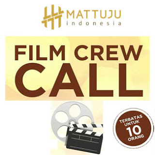 Mattuju Pictures Menerima Magang Crew Produksi Film Layar Lebar