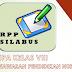 Download Silabus RPP IPA 2018 Jenjang SMP Semester 2 Kelas 8