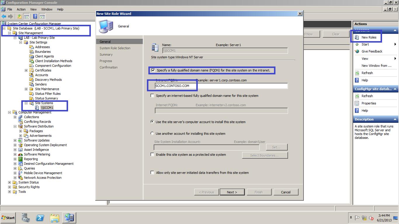 Installation of Software Update Point-SCCM