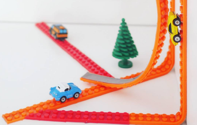 LEGO tape will turn anything into a LEGO surface