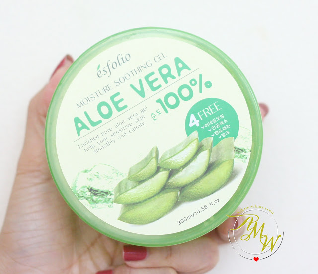 a photo of Esfolio Moisture Soothing Gel Aloe Vera