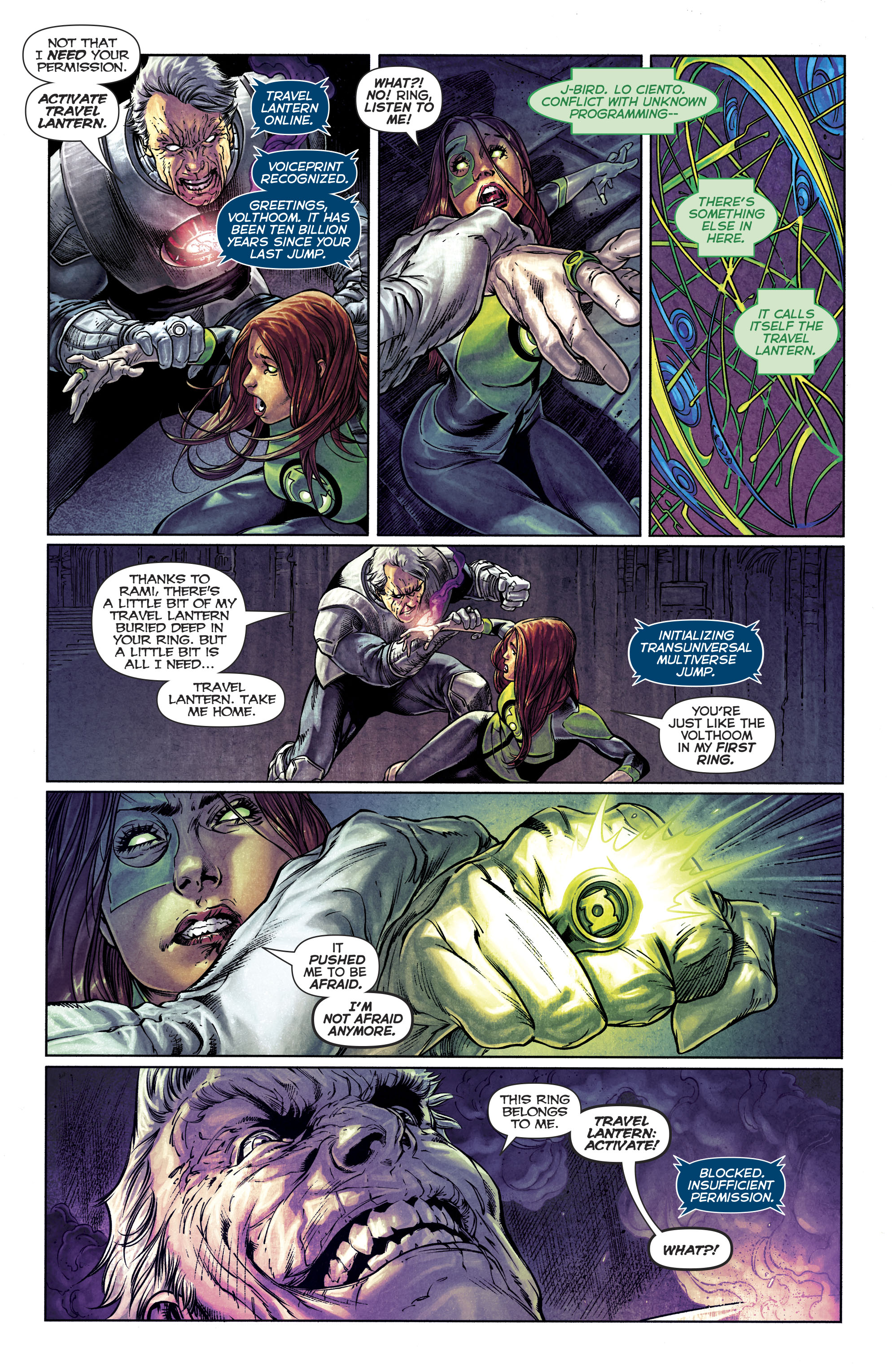 Read online Green Lanterns comic -  Issue #25 - 27