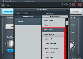 Bass ajip di vst plugin minisynth