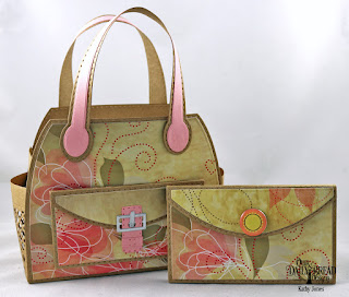 Our Daily Bread Designs Custom Dies:Timeless Tote, Timeless Tote Layers, Petite Pocketbook, Paper Collection: Beautiful Blooms