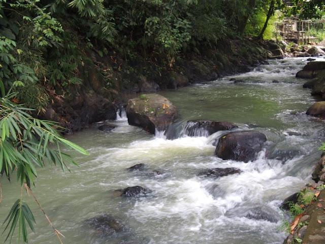 keindahan air terjun bedegung