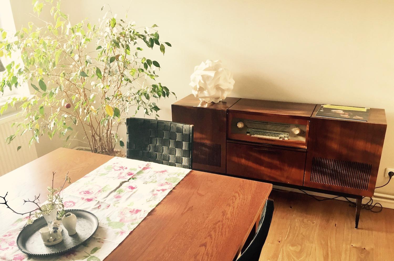 Eine Alte Musiktruhe Sunnys Haus