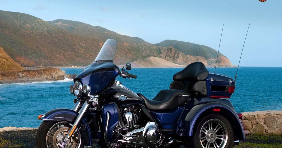 Automobile Trendz: Harley Davidson Tri Glide Ultra Classic