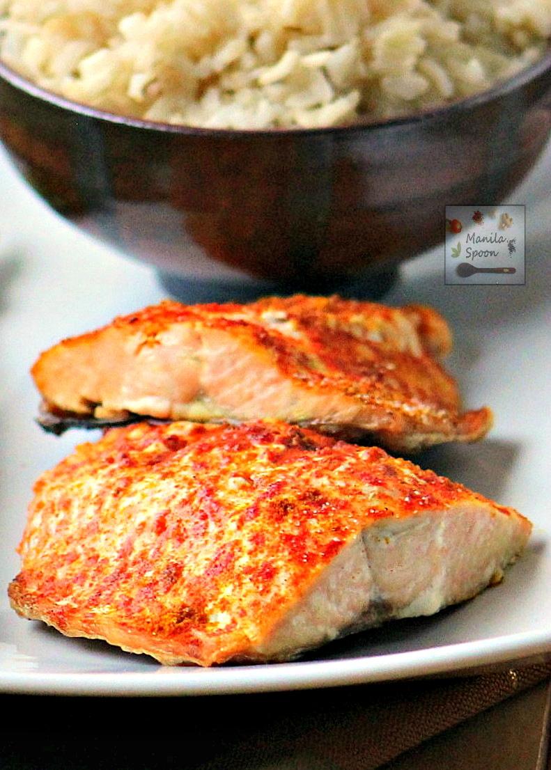 Baked Spiced Salmon