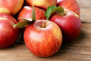 La pomme, elle piège le gras