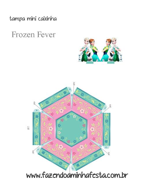 Joyero de Frozen para Imprimir Gratis.