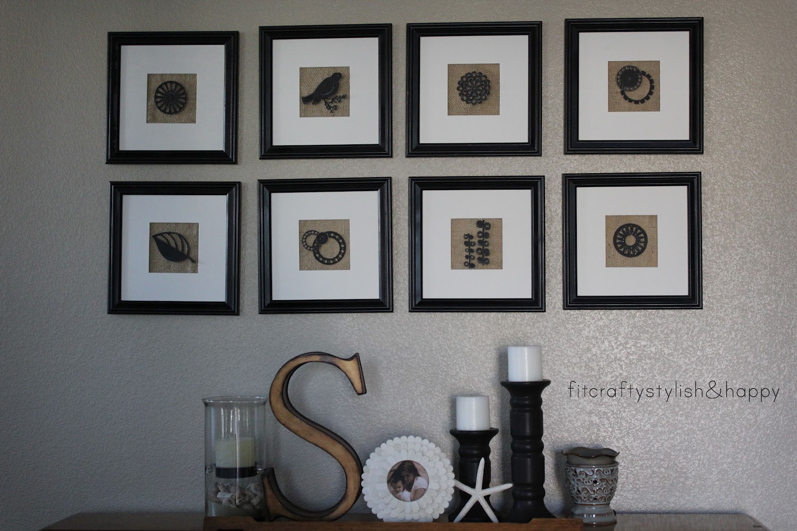 Fit, Crafty, Stylish And Happy: Living Room Makeover