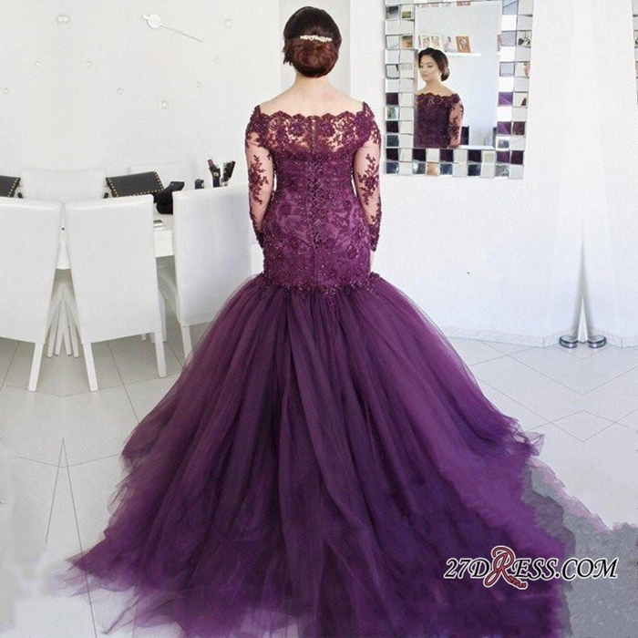 https://www.27dress.com/p/glamorous-long-sleeve-lace-appliques-mermaid-tulle-plus-size-prom-dress-107311.html
