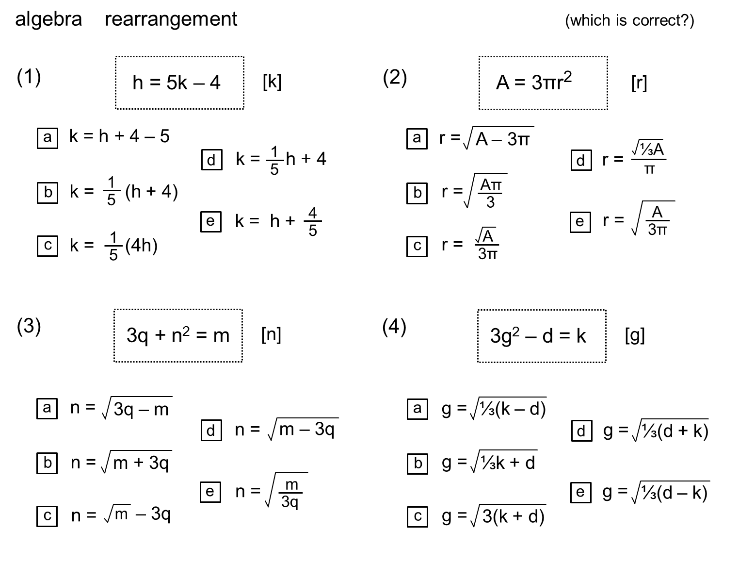 Median Don Steward Mathematics Teaching Rearrangement Steps