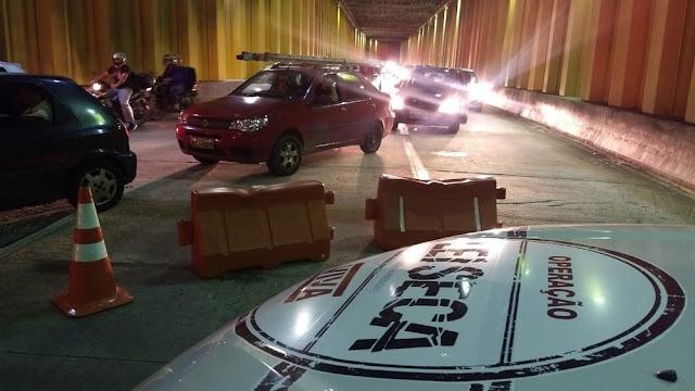 Blitz da Lei Seca autua 35 motoristas no entorno da Arena das Dunas