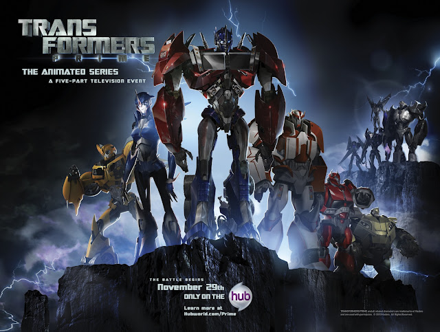 Transformers Prime series poster