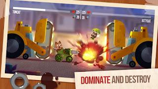 Cats Crash Arena Turbo Stars MOD APK v2.0 Super HD Terbaru 2017 Gratis Download
