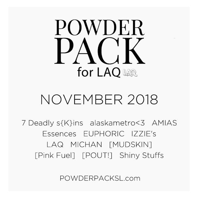 LAQ Powder Pack Coming November 1st!