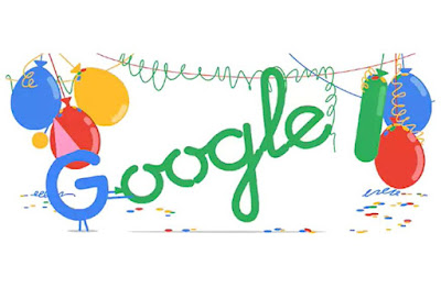 Happy Birthday Google As It Celebrates 18th Birthday On Tuesday
