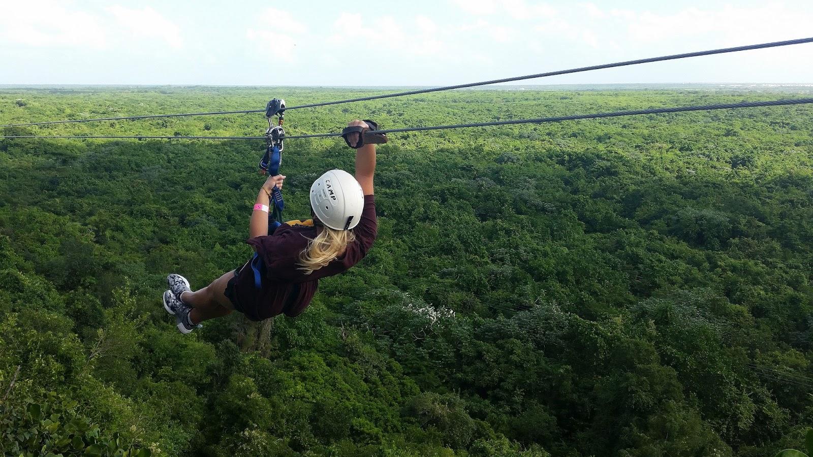 Park linowy Scape Park na Dominikanie w Cap Cana