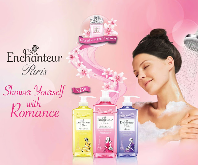 Gel Mandian Wangian ENCHANTEUR Paris Baharu