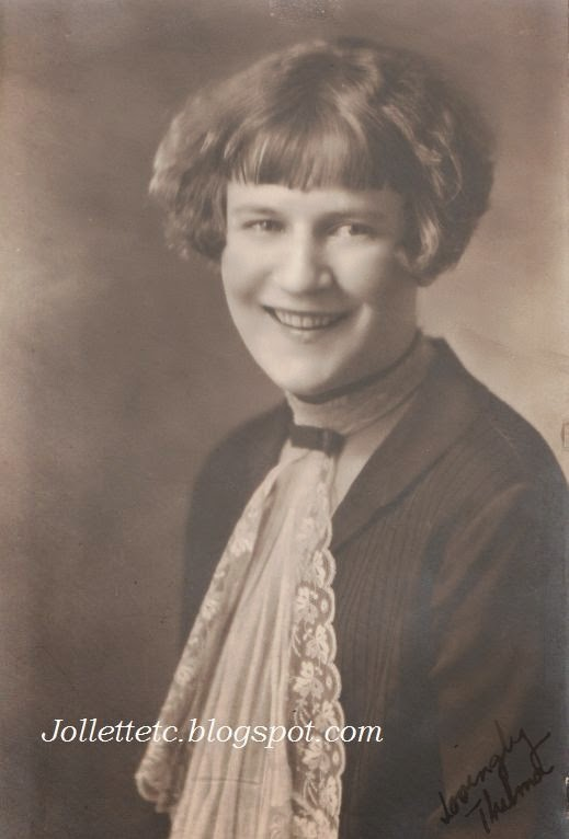 Thelma Clare Hockman about 1925
